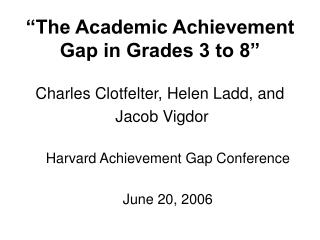 """The Scholarly Accomplishment Hole in Evaluations 3 to 8"""