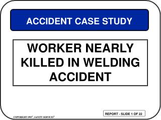 Specialist Almost Slaughtered IN WELDING Mishap