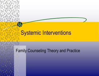 Systemic Intercessions
