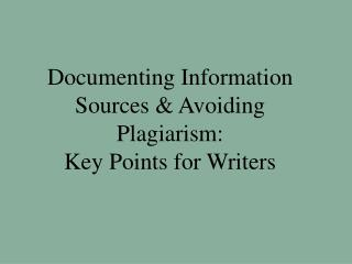 Recording Data Sources and Maintaining a strategic distance from Written falsification: Key Focuses for Scholars
