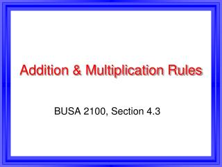 Expansion and Duplication Rules