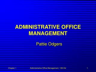 Authoritative OFFICE Administration