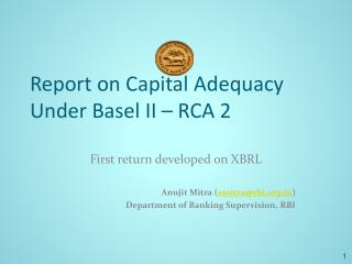 Report on Capital Ampleness Under Basel II