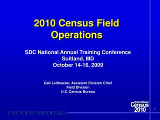 2010 Enumeration Field Operations