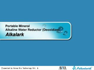 Convenient Mineral Soluble Water Reductor (Deoxidized) Alkalark