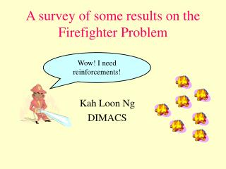 A review of a few results on the Firefighter Issue