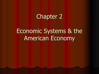 Part 2 Monetary Frameworks and the American Economy