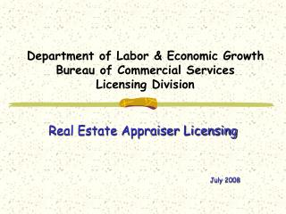 Branch of Work and Monetary Development Agency of Business Administrations Permitting Division