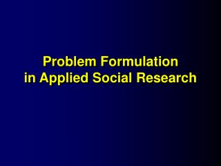 Issue Detailing in Connected Social Examination