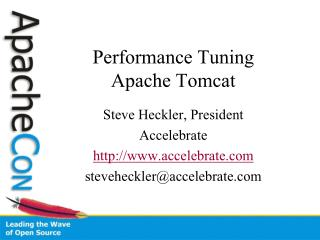 Execution Tuning Apache Tomcat