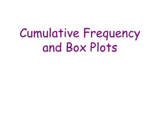 Combined Recurrence and Box Plots