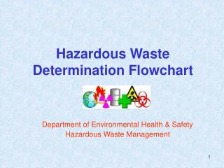 Dangerous Waste Determination Flowchart