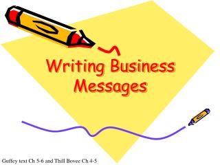 Composing Business Messages