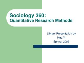 Humanism 360: Quantitative Exploration Strategies