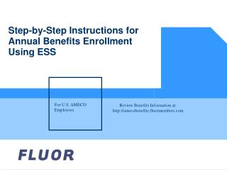 Orderly Directions for Yearly Advantages Enlistment Utilizing ESS