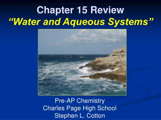 "Section 15 Audit ""Water and Fluid Frameworks"""
