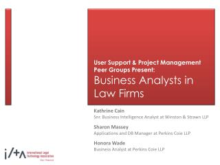 Client Support and Venture Administration Peer Bunches Present: Business Investigators in Law offices