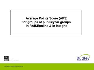 Normal Focuses Score (APS) for gatherings of students/year bunches in RAISEonline and in Integris