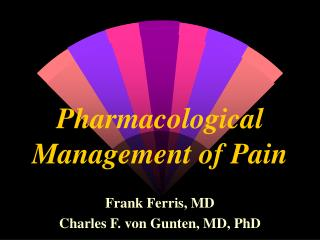 Pharmacological Administration of Agony