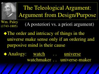 The Teleological Contention: Contention from Configuration/Reason