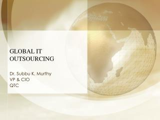 Worldwide IT OUTSOURCING