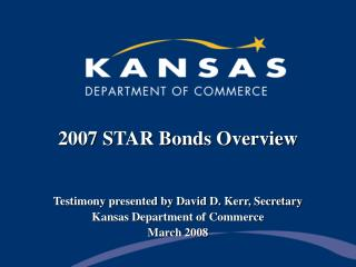 2007 STAR Bonds Review
