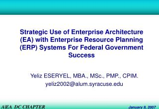 Key Utilization of Big business Engineering (EA) with Big business Asset Arranging (ERP) Frameworks For Government Achie