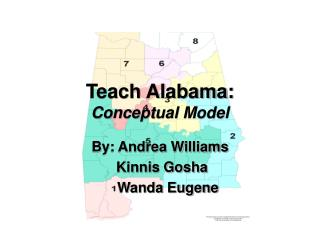 Show Alabama: Calculated Model