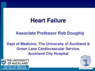 Heart Disappointment Partner Educator Loot Doughty Dept of Pharmaceutical, The College of Auckland and Green Path Cardio