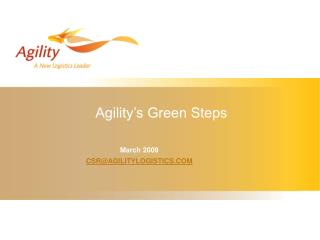 Readiness' Green Steps