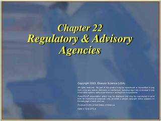 Part 22 Administrative and Counseling Organizations