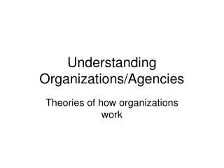 Understanding Associations/Offices