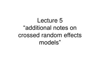 "Address 5 ""extra notes on crossed arbitrary impacts models"""