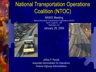 National Transportation Operations Coalition (NTOC)