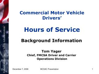 Business Engine Vehicle Drivers' Hours of Administration