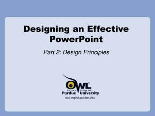 Outlining a Viable PowerPoint