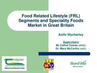 Sustenance Related Way of life (FRL) Portions and Forte Nourishments Market in Incredible England