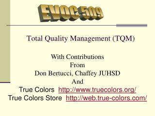 Absolute Quality Administration (TQM)
