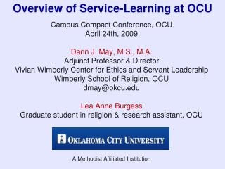 Review of Administration Learning at OCU