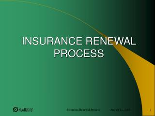 Protection Reestablishment PROCESS