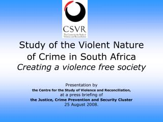 Investigation of the Vicious Way of Wrongdoing in South Africa Making a viciousness free society