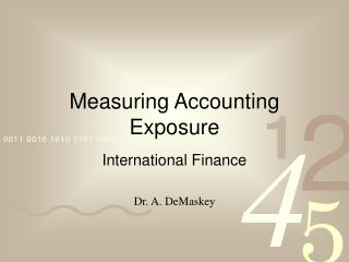 Measuring Bookkeeping Introduction