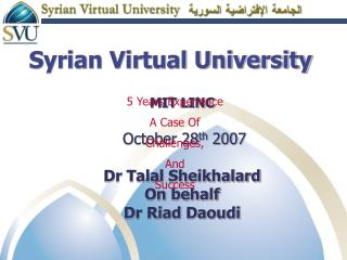 Syrian Virtual College