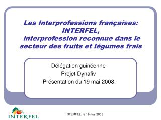 Les Interprofessions fran