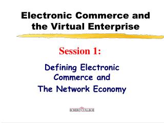 Electronic Business and the Virtual Undertaking