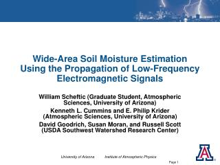 Wide-Zone Soil Dampness Estimation Utilizing the Spread of Low-Recurrence Electromagnetic Signs