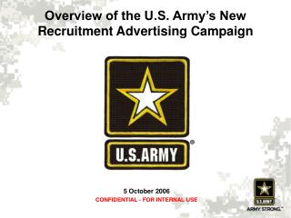 Review of the U.S. Armed force's New Enlistment Promoting Effort