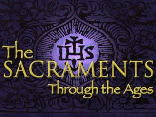 The word holy observance sacramentum, connotes something holy