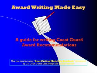 Honor Writing Made Easy
