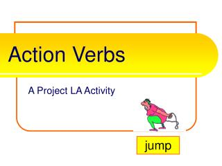 Activity Verbs